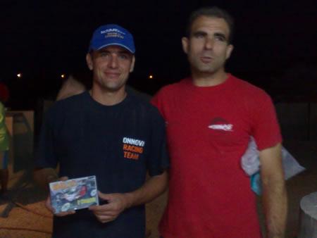 Matías, junto a nuestro amigo Pedro Macías